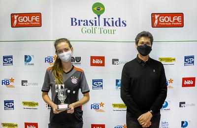 Golfistas de 13 anos são destaque nas etapas do Tour Juvenil e Brasil Kids do Lago Azul