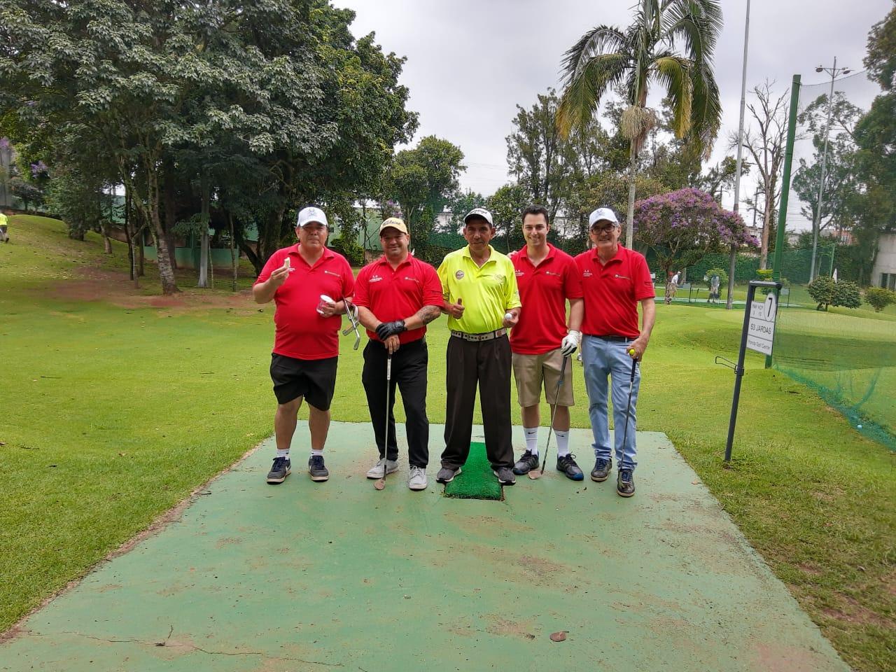 Campeões do PRO-AM do Torneio Incentivo ao Golfe