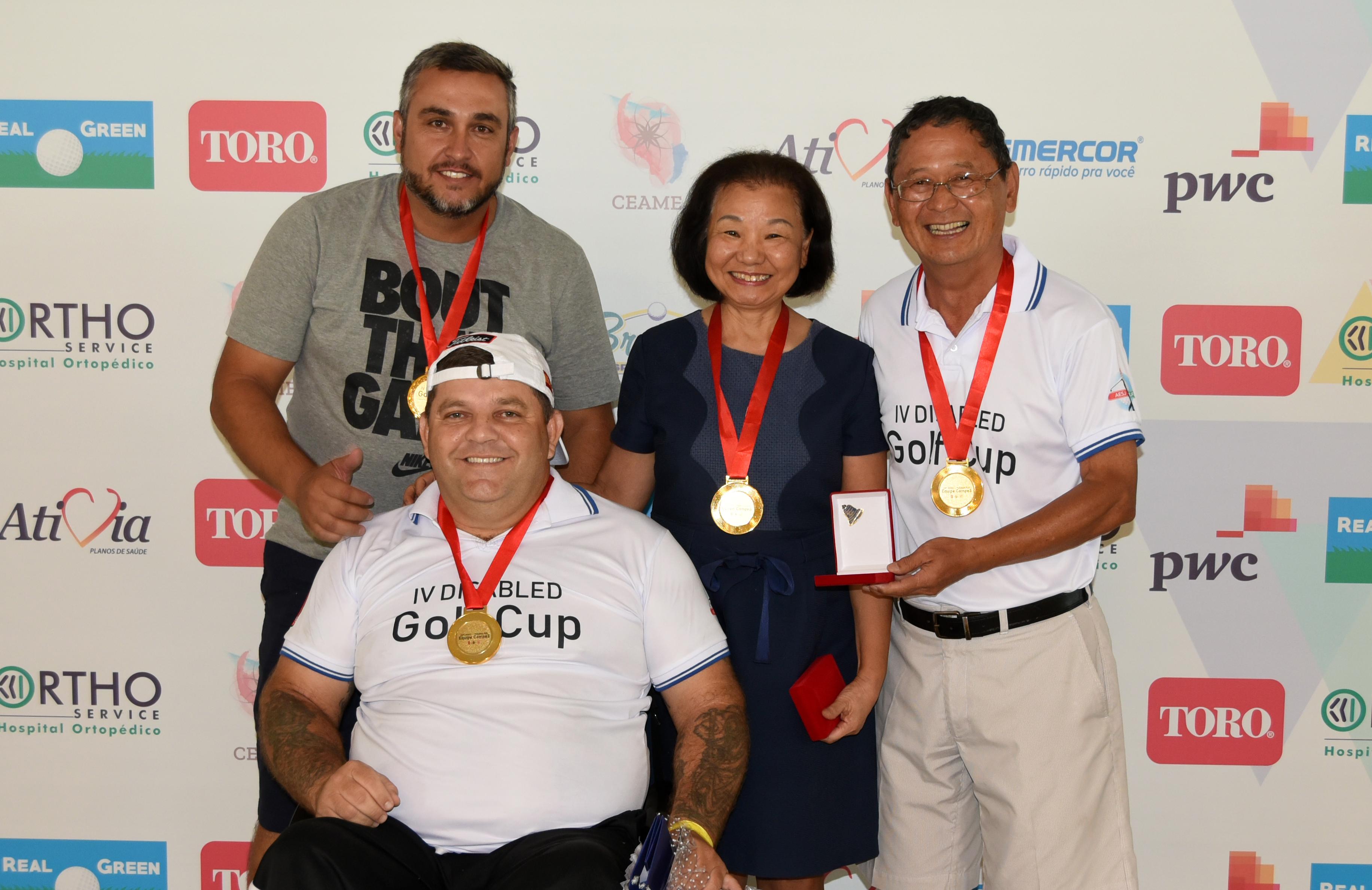 4ª Disabled Golf Cup na Associação Esportiva São José