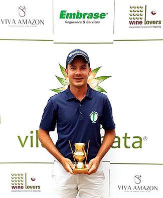 Fernando Augusto Silva vence a categoria scratch no 1º Aberto Clube de Golfe Vila da Mata