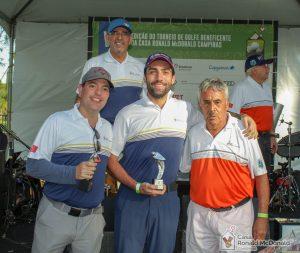 Vice-campeões Ricardo Siqueira e Raphael Borges