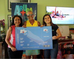 Dalila Costa ganhadora do pacote para Aruba