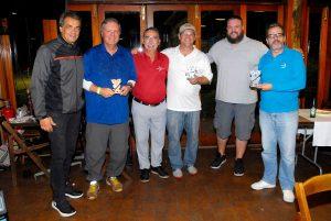 Geraldo, Brunetti, Braga, Gottschalk, Rafael e Zé Geraldo Foto: Zeca Resendes