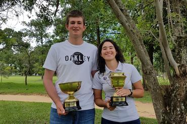Daniel Celestino (PR) e Laura Caetano (DF) são campeões do Juvenil do Estado de São Paulo