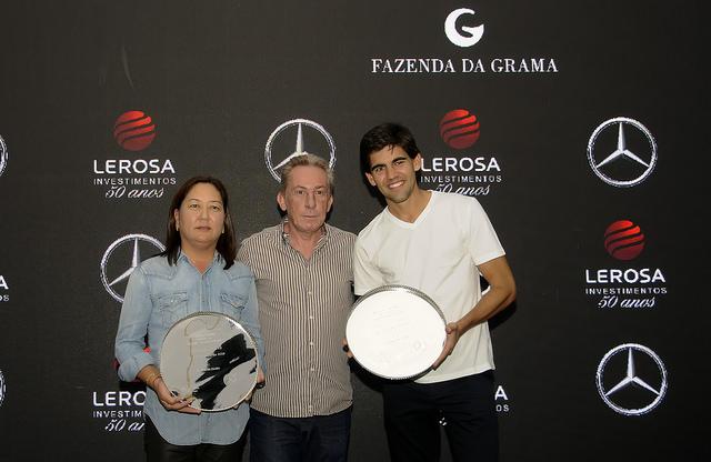 MercedesTrophy by Lerosa Investimentos Silvia Nishi e Dudu Costa são campeões no Fazenda da Grama