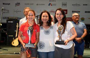 Fernanda Lacaz e Leticia Colombo com Stella Bihar Foto: Thais Pastor/F2