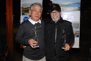 Antonio Takeo e Celso Palma Foto: Zeca Resendes/APG