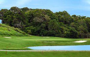 Golfe Clube Aretê Búzios - green do buraco 17