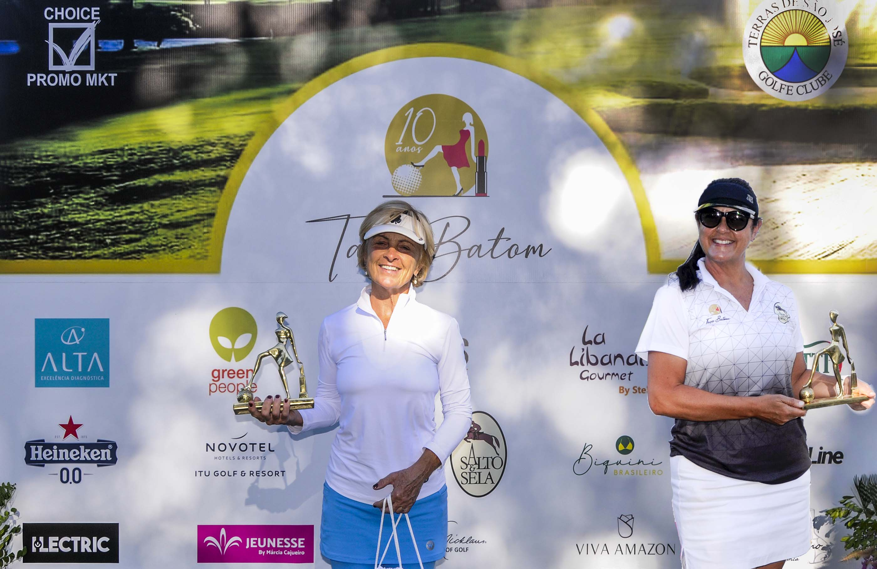 Nice Terni e Silvia Cardoso vencem torneio que comemorou os 10 anos da Taça Batom