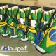 Novas bolsas de tacos da equipe brasileira