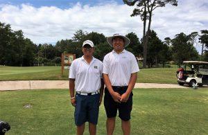 Matheus Park e Thomas Choi