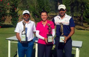 Fernando Vieira dos Santos, Leticia Mont'Serrat e Rogério Cardoso Foto: divulgação
