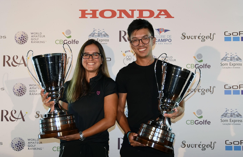 Honda Open – Aberto Bandeirantes: Kenji e Lauren vencem sem ser ameaçados