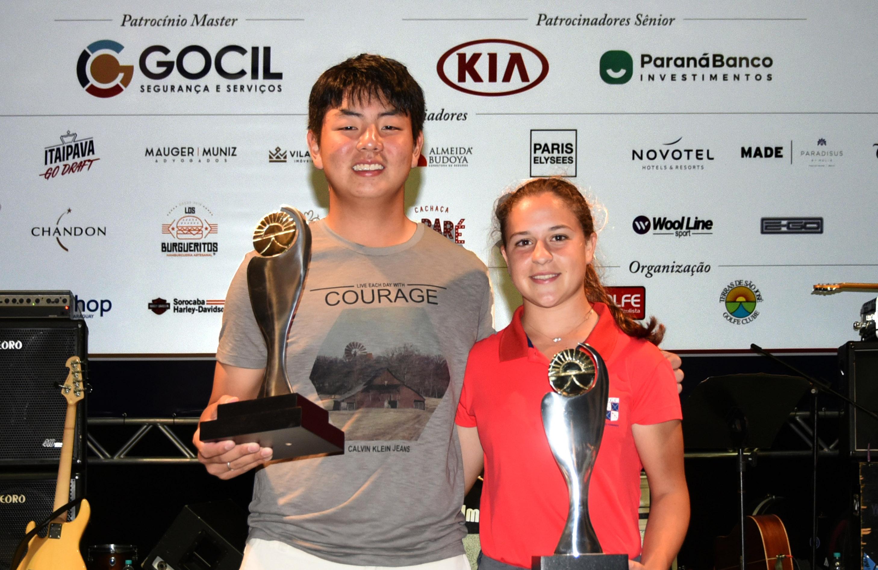 Fernanda Lacaz e Thomas Choi vencem o Aberto Gocil do Terras de São José