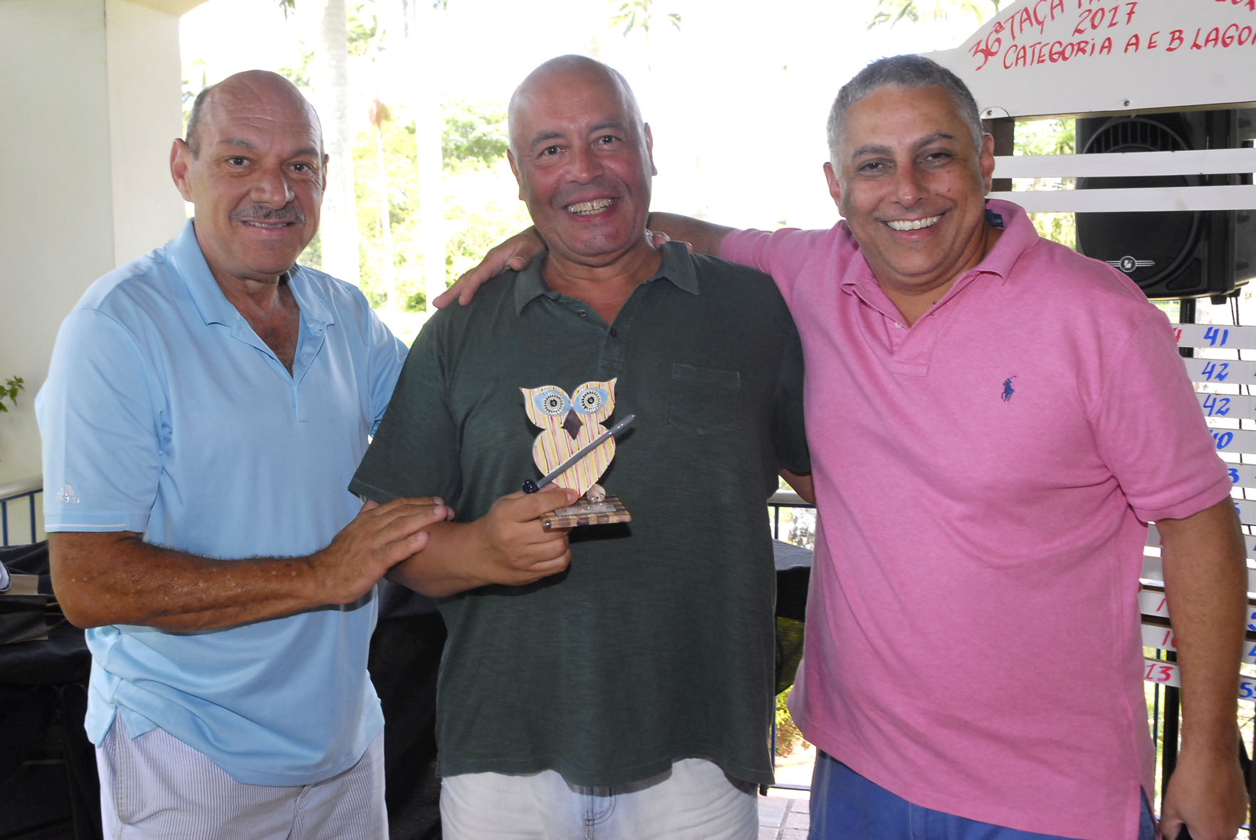 Campeões da 36ª Taça APG no Lago Azul Golfe Clube