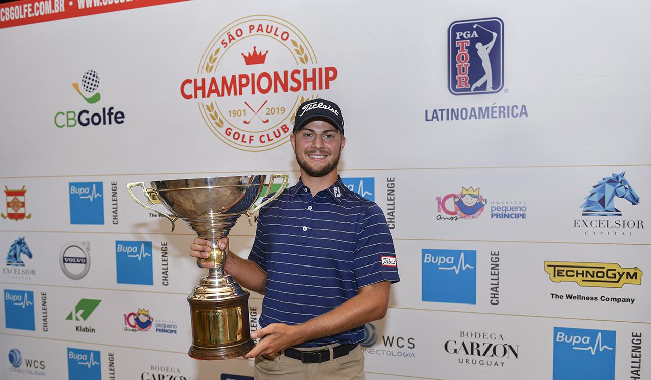 Americano Chandler Blanchet conquista o SPGC Championship, seu primeiro título no PGA TOUR Latinoamérica
