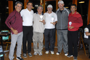 Fernando Vieira, Antonio Padula, Antonio Takeo, Gilberto Aguitoni, Luiz Brandino e Vilson Oliveira Foto: Zeca Resendes