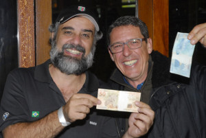 Taça Montoto - Zeca Resendes e Wilson Corrêa Foto: Zeca Resendes