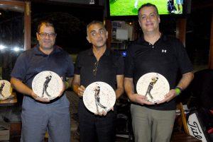 Fábio Seta, Marcelo Silva e Marcelo Moya Foto: Zeca Resendes/APG