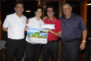 Antonio Padula, Cecilia Teixeira, Zeka Abrantes e Alexandre Santos Foto: Zeca Resendes