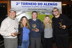 Mafra, Janete, JB, Cinthia e Rodolpho Foto: Zeca Resendes