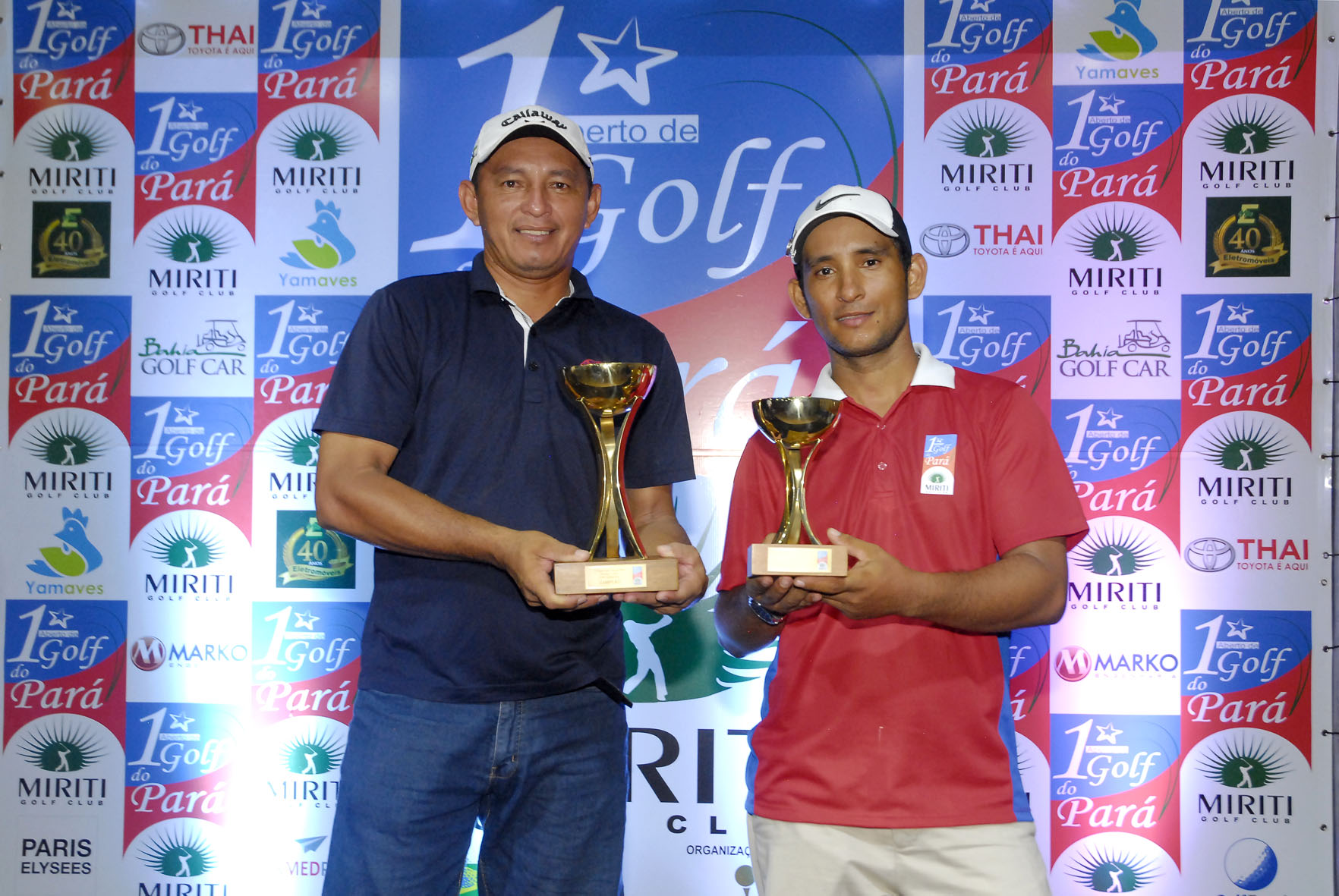 Ednilson Lima é o campeão do 1° Aberto de Golf do Pará no Miriti Golf Club