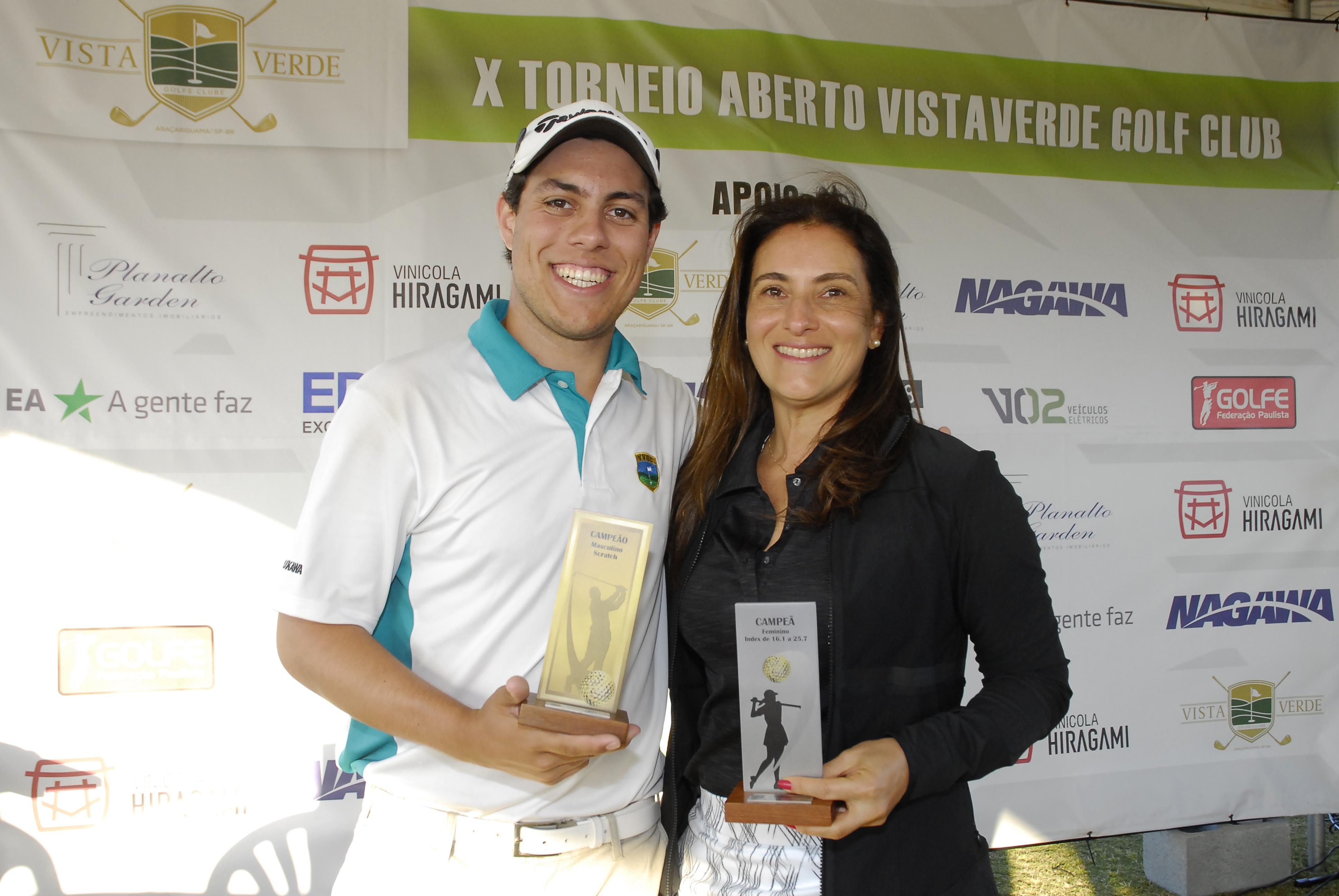 Paulo Vitor Mattos é campeão do Aberto do Vista Verde