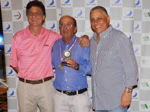 Ricardo Melo, Elver Colombo e Alexandre Santos