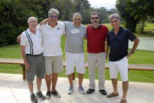 Jb, Vlamir, Alexandre, José Geraldo e fernando, diretoria APG 2017 Foto: Zeca Resendes/APG