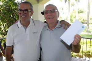 Durval Pedroso e José Certo Foto: Zeca Resendes/APG