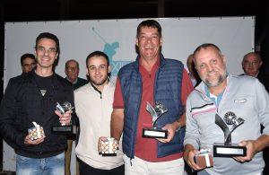 Daniel Perin, Felipe Miwa, Antonio Pereira Junior e Alexandre Martins Foto: Thais Pastor/F2