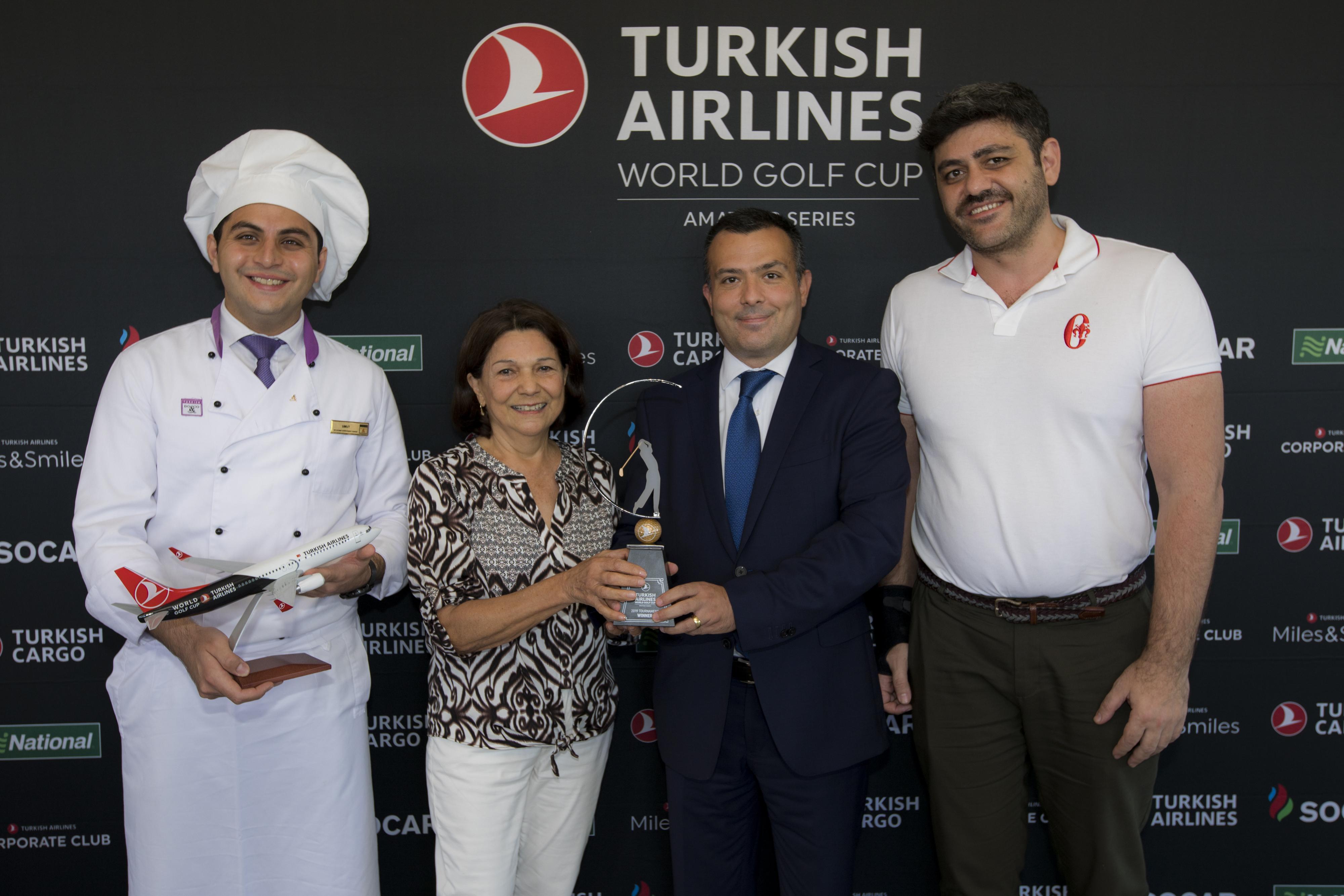 Graciela Jordan vence a etapa Brasil do Turkish Airlines World Golf Cup 2019
