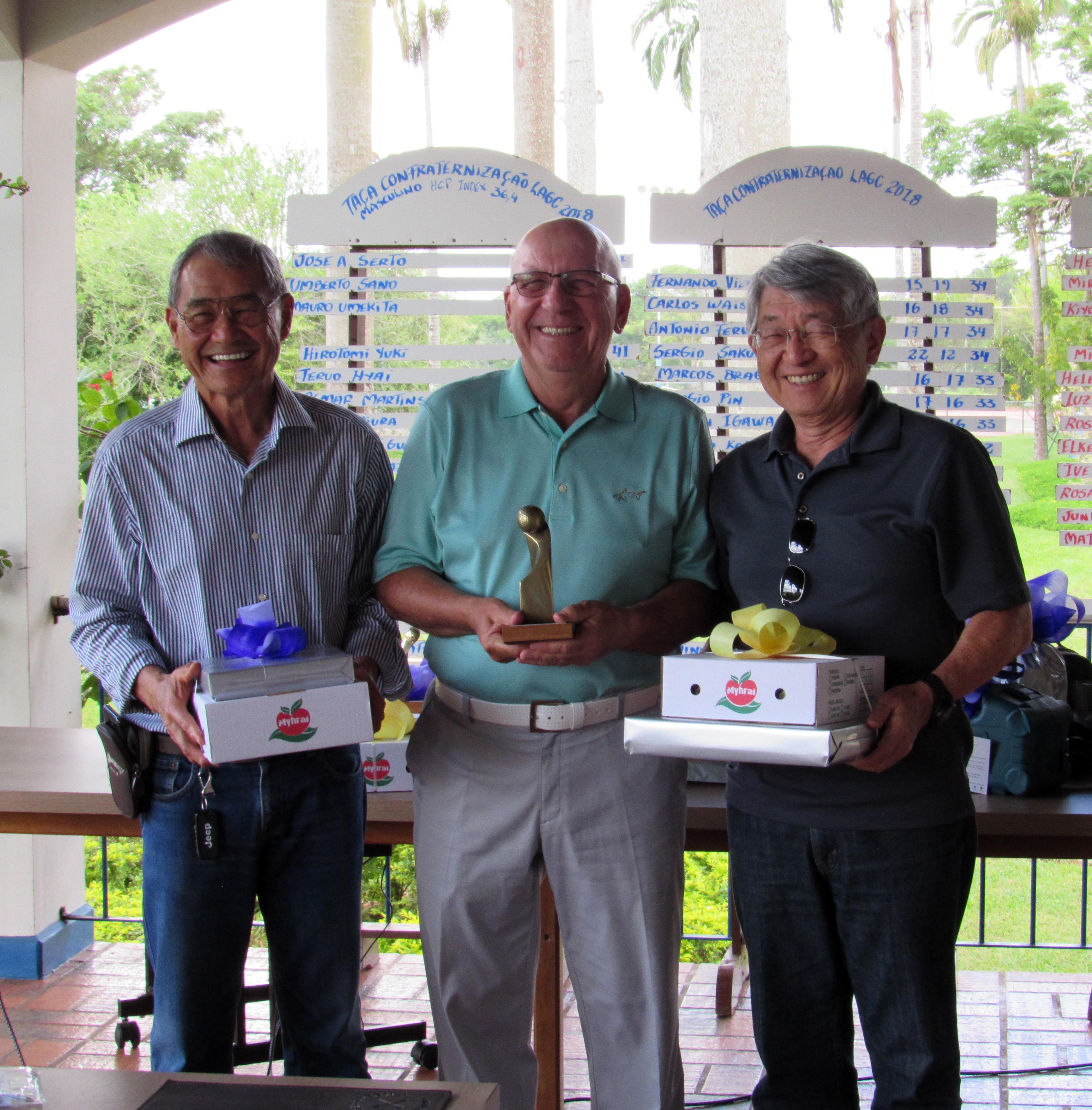 Campeões da Taça de Confraternização no Lago Azul Golfe Clube