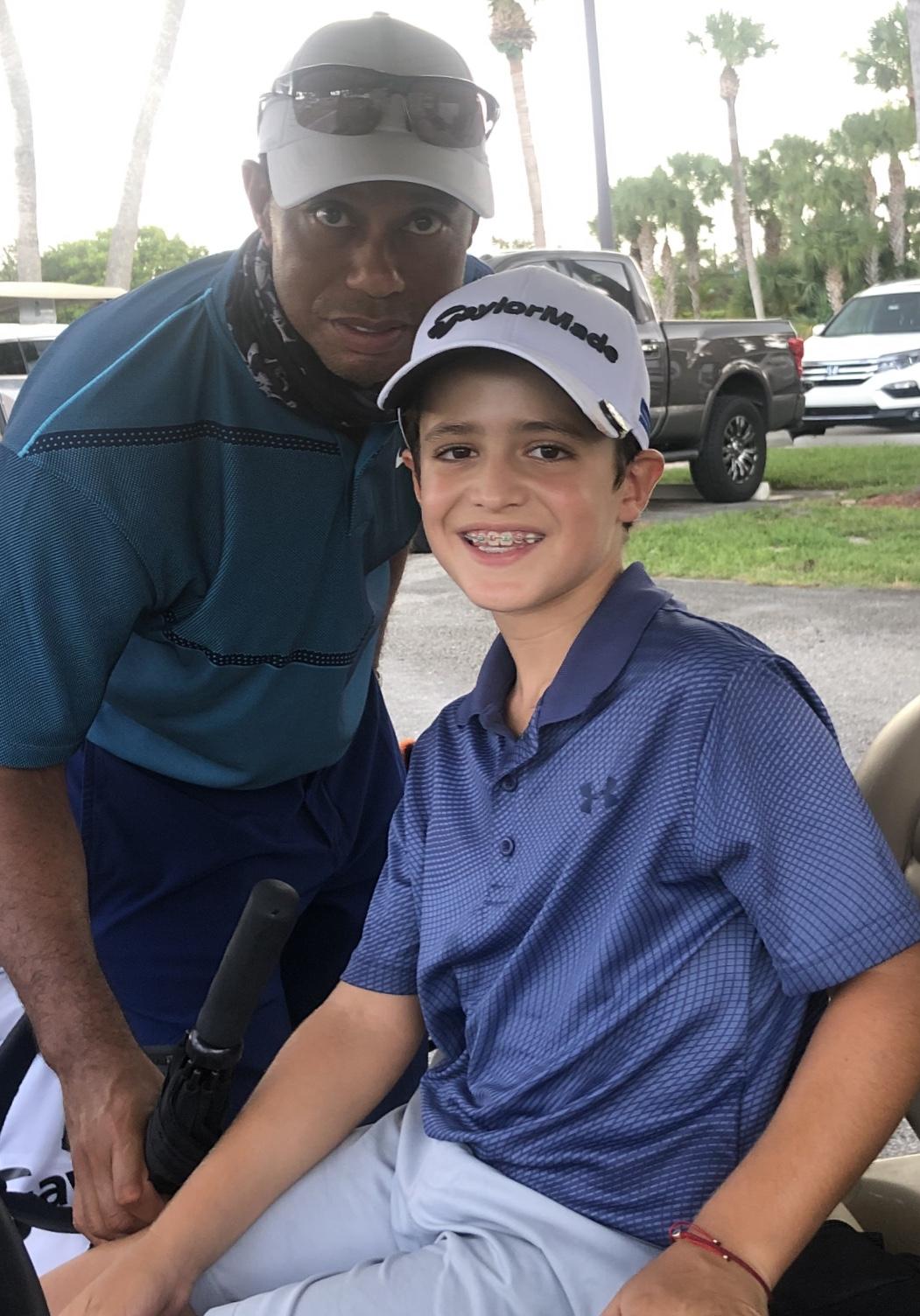 Bento Assis é Campeão mais uma vez e conhece seu ídolo Tiger Woods