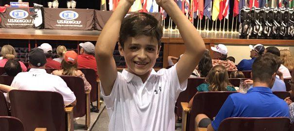 Bento Assis é tricampeão do Mundial do U.S Kids nos Estados unidos