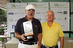 Gilberto Aguitoni (ao lado, com José Roberto Almeida e Silva) Foto: divulgação/FPG