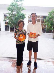 Luzia Taninaga e Marcos Semensato, campeões scrtach