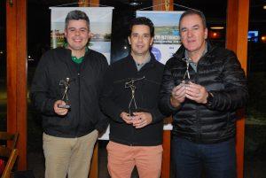 Murilo Moura, Marcus Neves e Edgar Rosa Foto: Zeca Resendes/APG