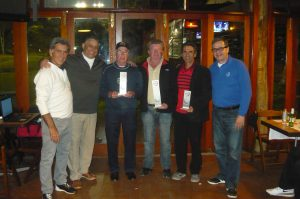 Fernando Vieira, Alexandre Santos, João Batista Miranda, Carlos Candido, Vilson Oliveira e José Geraldo Magalhães