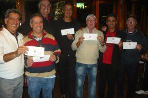 Ganhadores dos vouchers do boliche Villa Bowling