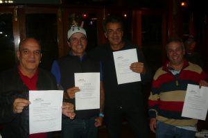 Ganhadores do voucher do Marriot Grande Vista, em Orlando (EUA)
