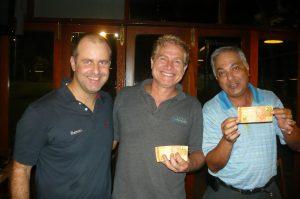 Roberto Coletti, Juarez Mascarello e Fred Nassel
