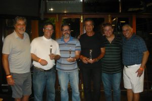 Antequera, Marcos Gottschalk, José Geraldo, Geraldo Ramos e Alexandre Santos