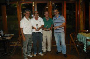 Fernando Vieira, Elver Colombo, Francisco Matarazzo e José Geraldo Magalhães