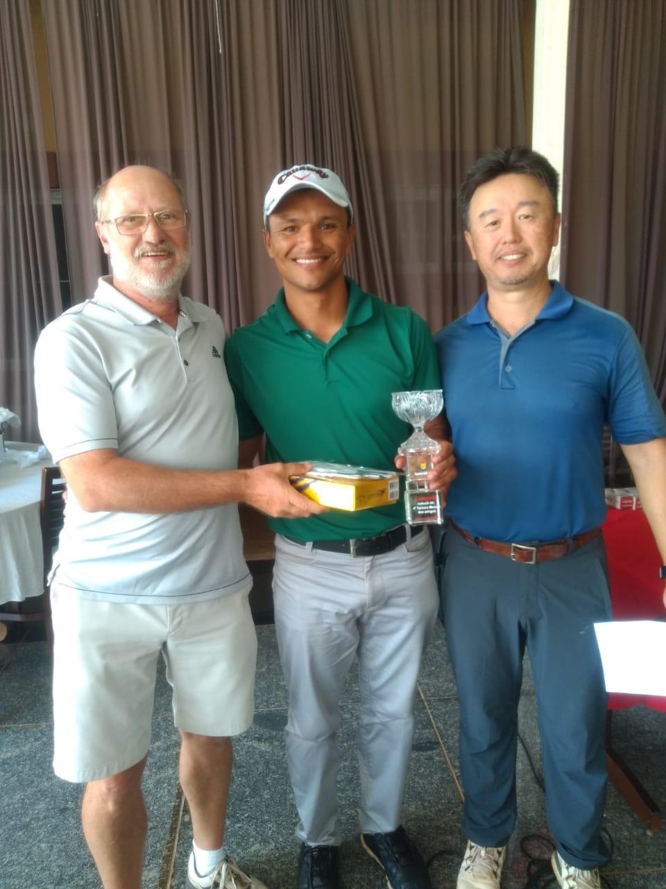 Renan Silva vence no Imperial Golfe Clube