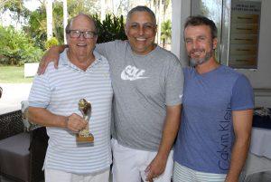 Ronald Gunn, Alexandre Santos e José Rubens Foto: Zeca Resendes/APG