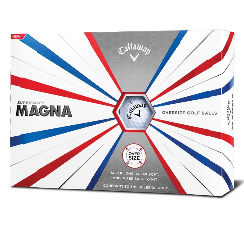 Callaway lança Supersoft Magna, uma bola maior e que promete mais distância