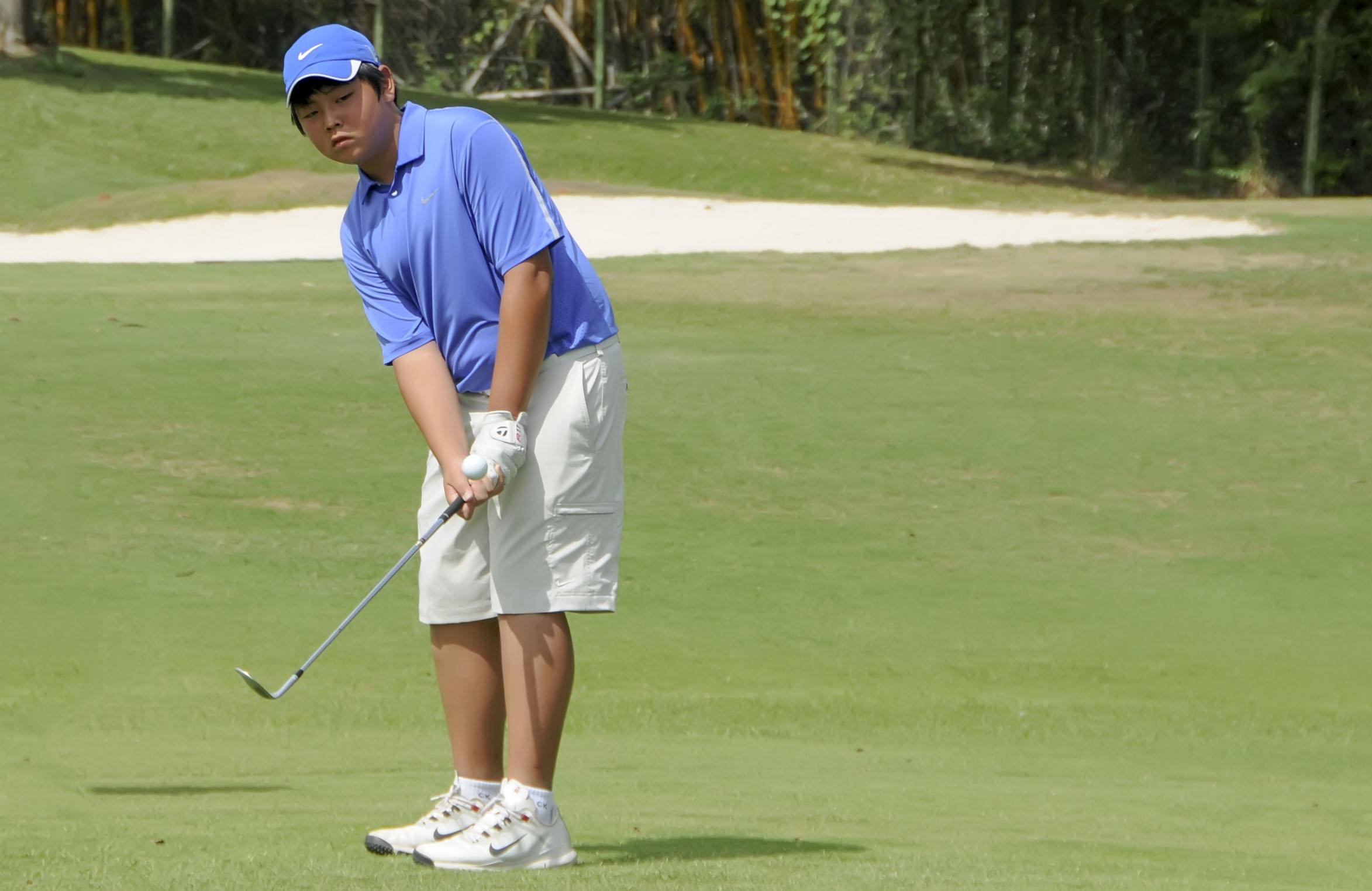Jovens golfistas dominam a terceira etapa do 58º Torneio Pé Duro APG