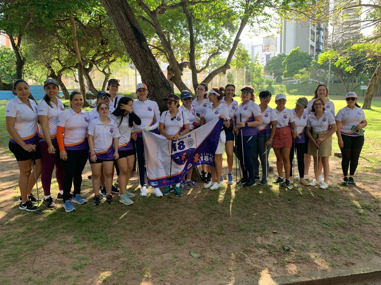 Torneio de golfe em Fortaleza contra violência à mulher