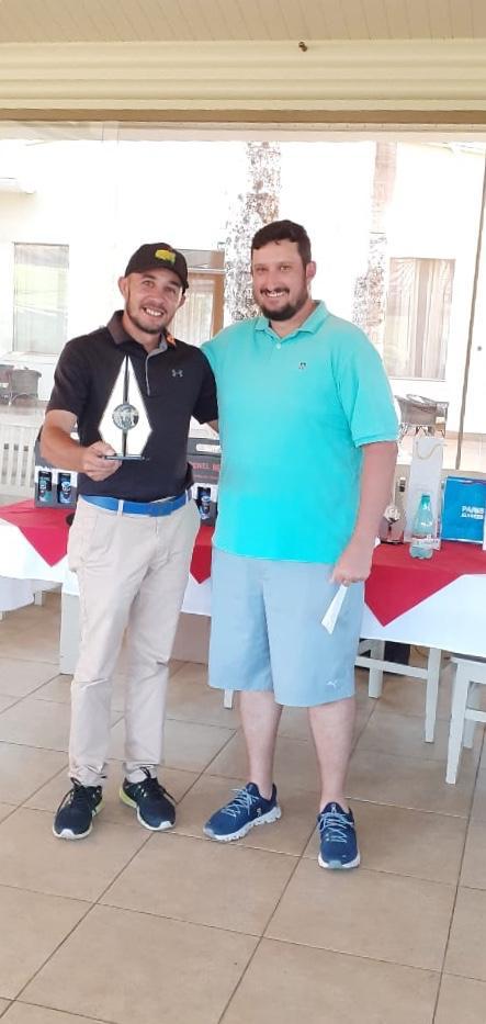 Campeões do 1ª Etapa do Tour 2020 do Clube do Golfe Vila São José